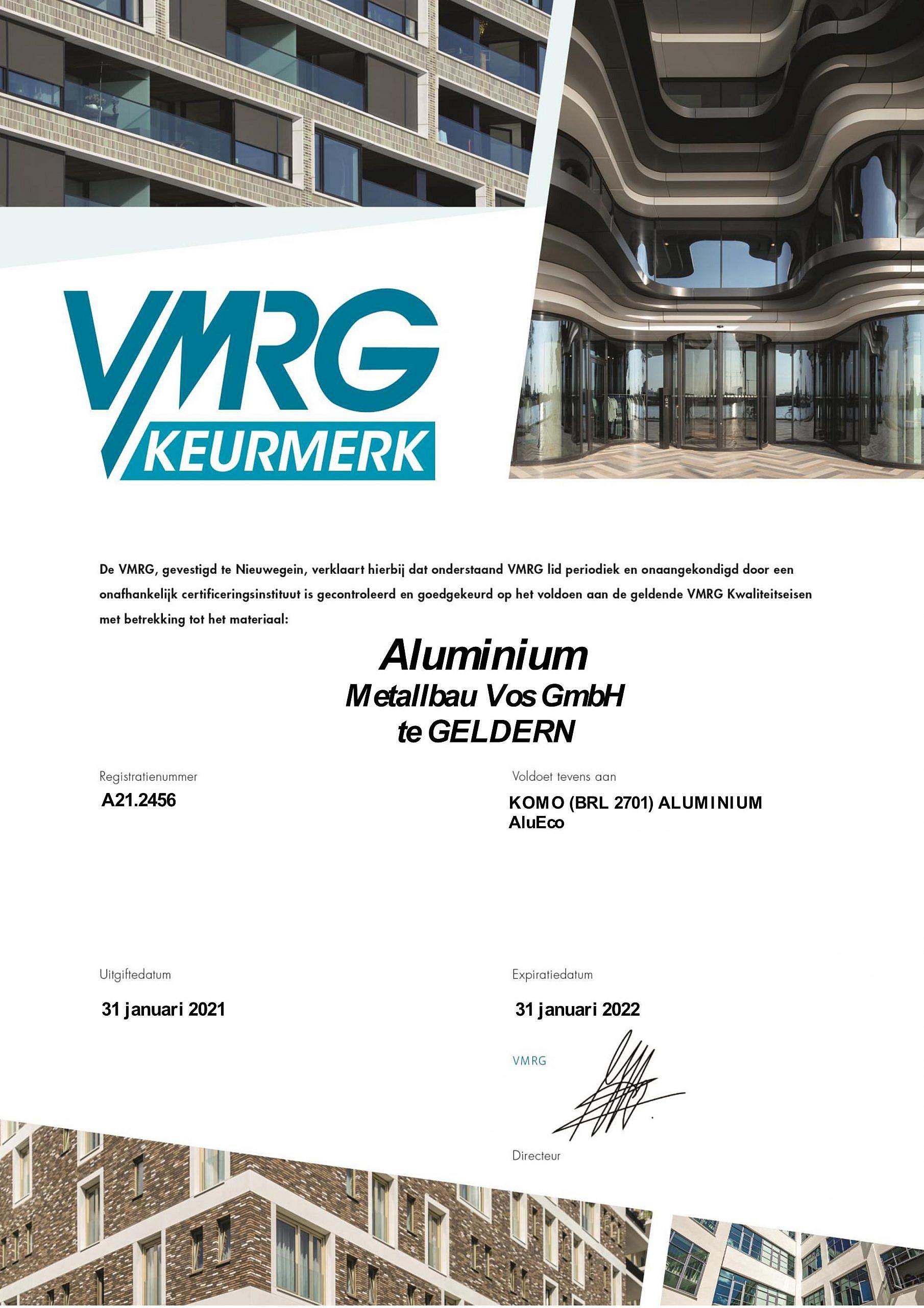 VMRG 2021-2022